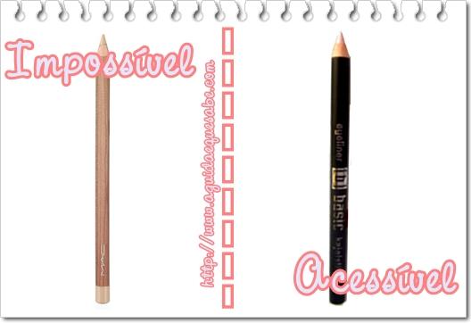 lápis bege