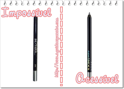 eyeliner urban decay dupe avon super shock mark gel