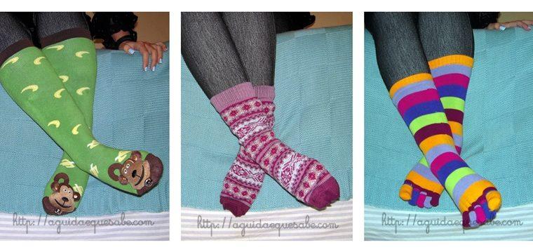 Meias, meias, meias.