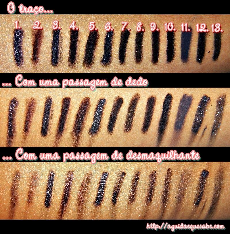 eyeliner preto