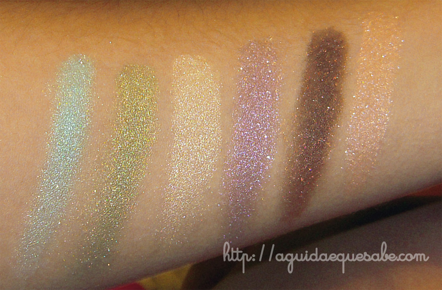 sombras swatch review paleta la boheme make up for ever sephora