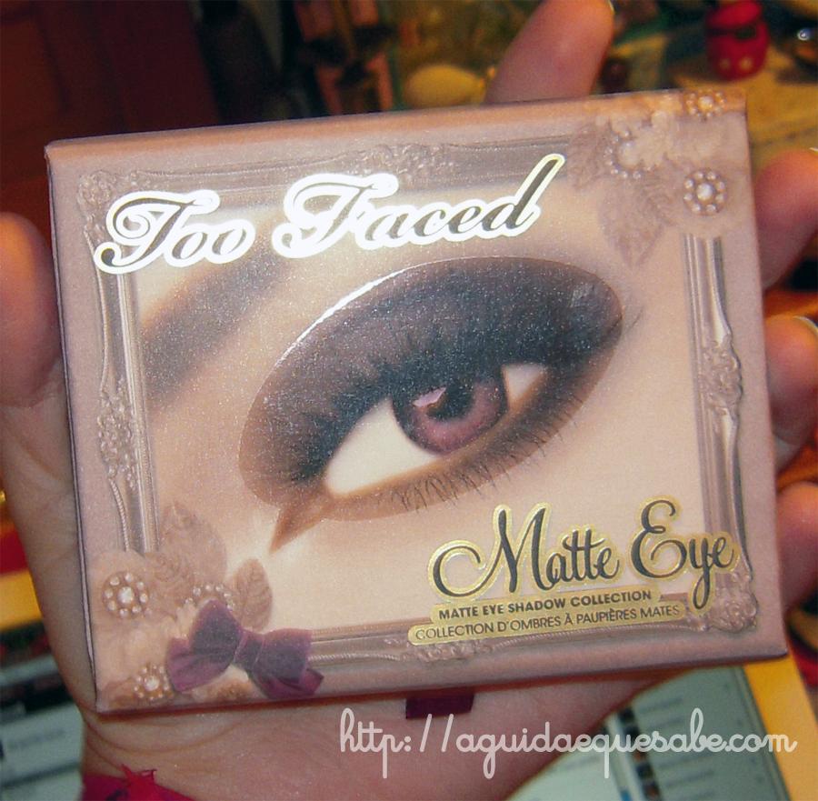 paleta too faced matte eye