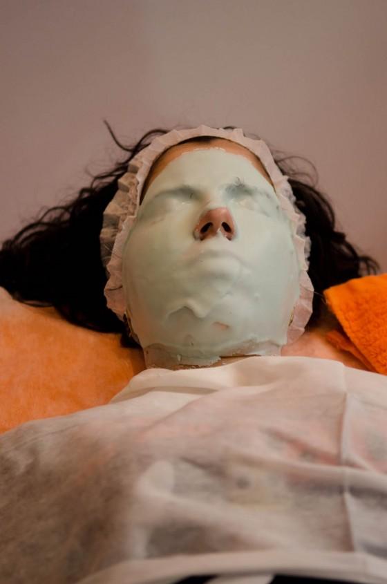 alginatos máscara peel off aloe vera anadia pluricosmética