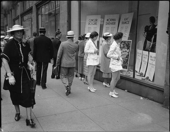 Vintage Shopping Ladies