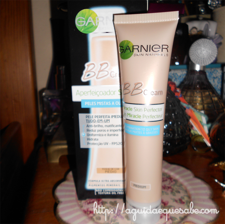 bb cream mate garnier base maquilhagem makeup hidratante fps cor base