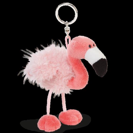 nici flamingo flamingos moda acessórios peluche porta-chaves