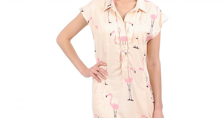 Flamingos – Vestido