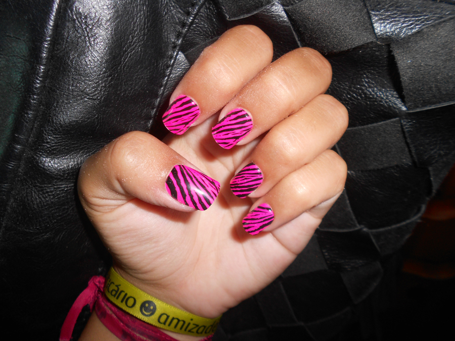 unhas press-on postiças extensão impress manicure