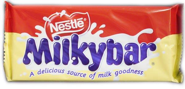 Milkybar = Galak?