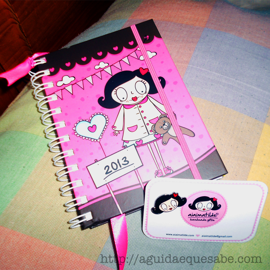 agenda aiaimatilde papelaria made in portugal