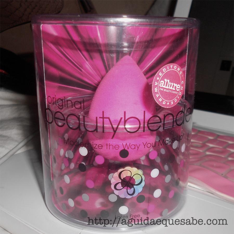 beauty blender esponja aplicação maquilhagem makeup beleza