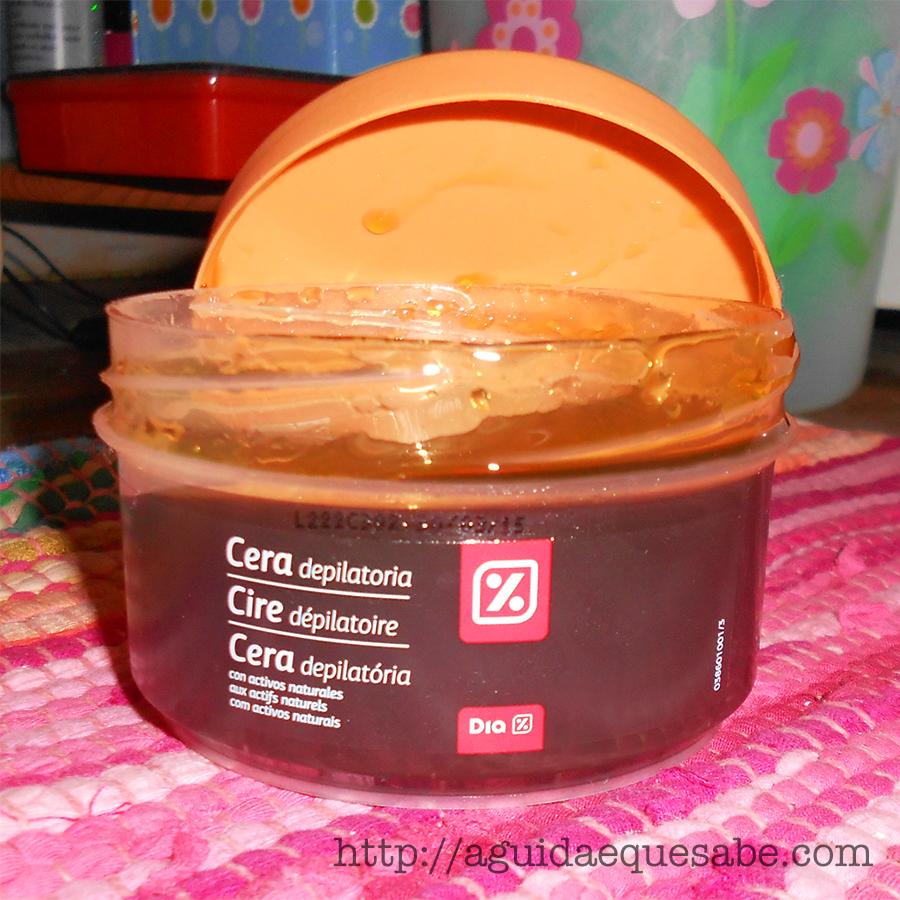 epilação depilação em casa cera depilatória boião quente minipreço dia clarel