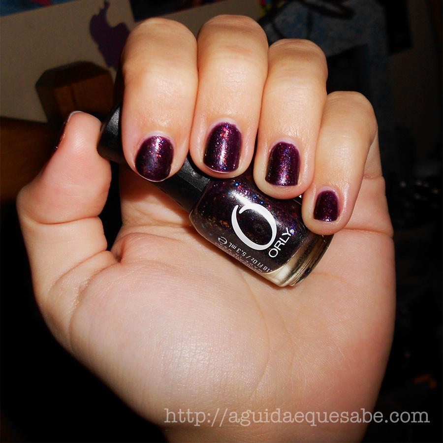 fowl play orly birds of a feather manicure verniz esmalte unhas maquilhagem beleza galaxy nails