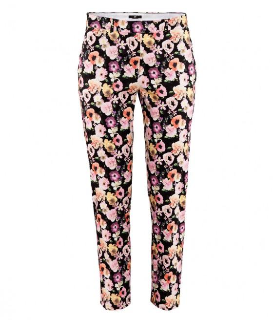 moda lotd ootd look do dia outfit h&m hm calças floral