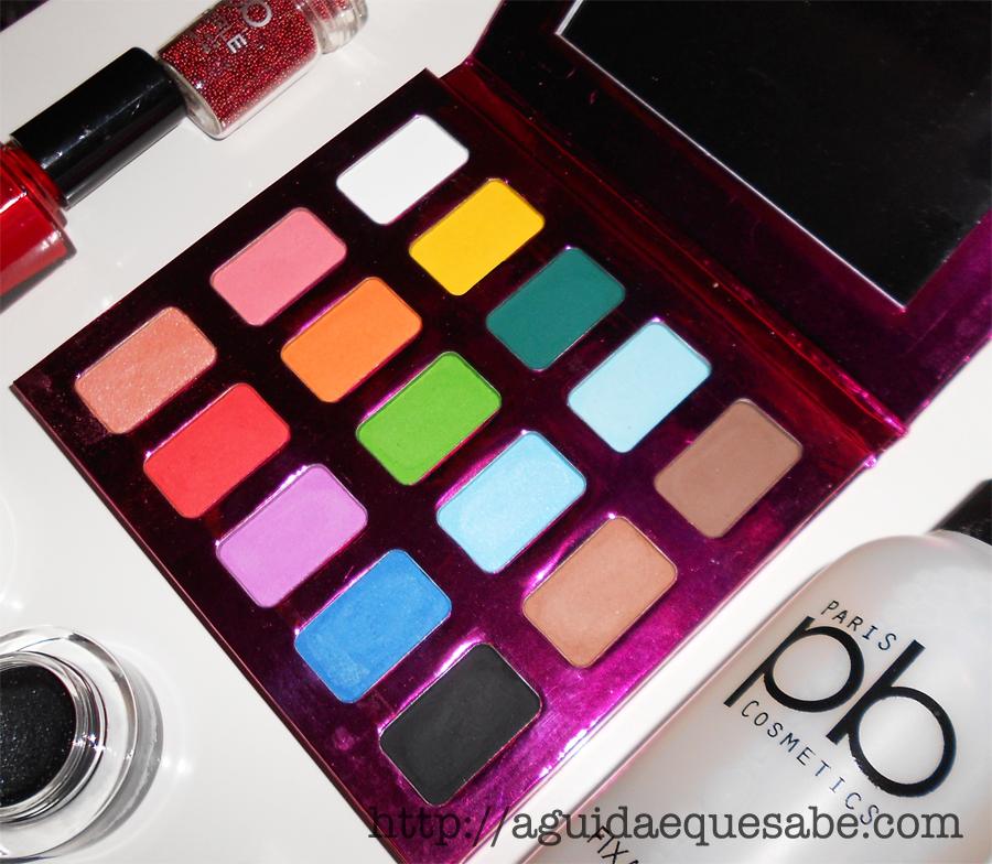 pb cosmetics maquilhagem low cost makeup dupes review swatch paleta palete