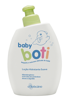 higiene bebé baby boti boticário hidratante