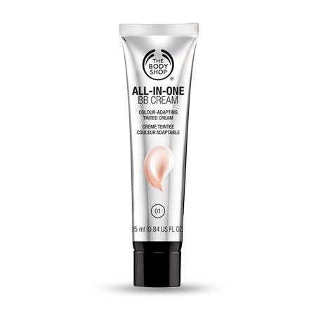 bb cream all in one the body shop vegan beleza maquilhagem cruelty free não testa em animais review swatch opinião