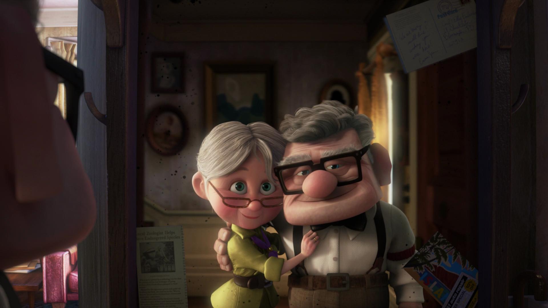 Amor Up Disney Pixar perguntas e respostas