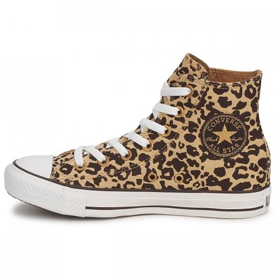 converse all star leopardo oncinha cano alto animal print chuck taylor