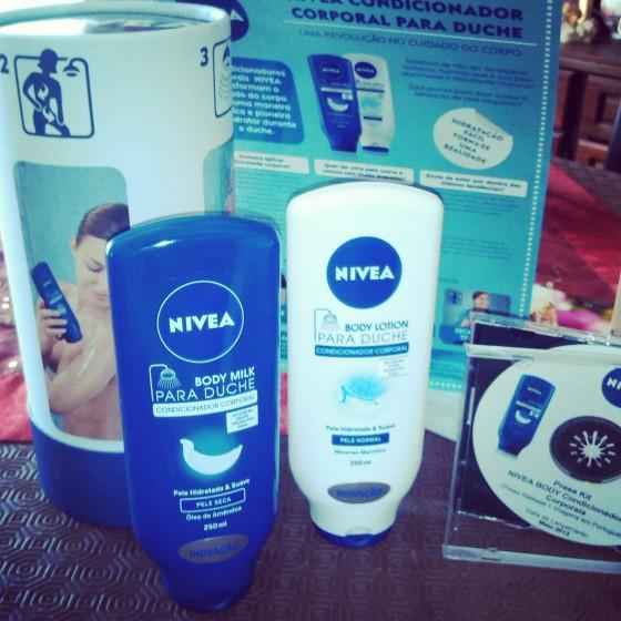 body milk hidratante banho duche nivea review resenha