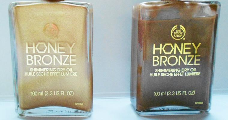 Honey Bronze Shimmering Dry Oil – Medalha de Bronze