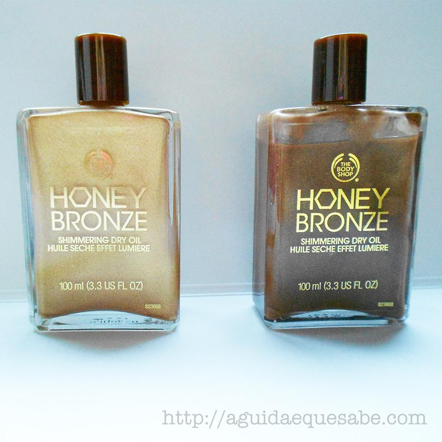honey bronze shimmering oil the body shop vegan cruelty free bronzer bronzeador