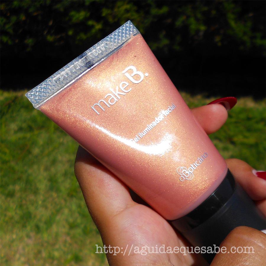 make b miami sunset boticário gel iluminador blush bronzer makeup maquiagem maquilhagem beauty review resenha swatch