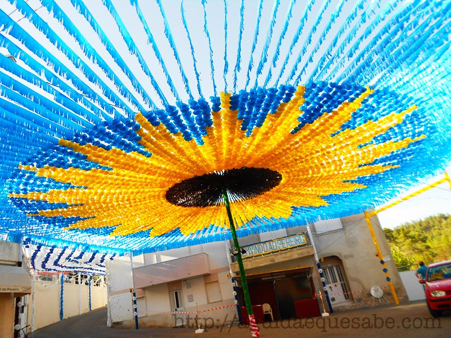 mação pereiro ruas enfeitadas portugal viagens centro aldeia