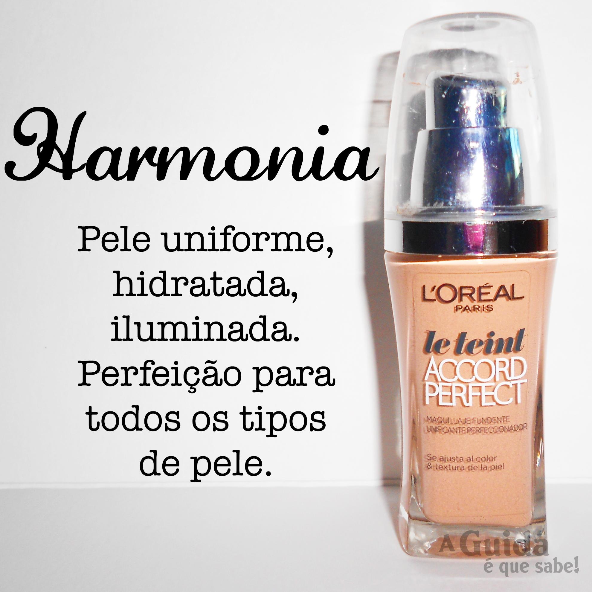 base fond de teint accord perfect l'oreal loreal paris portugal swatch review resenha makeup maquilhagem