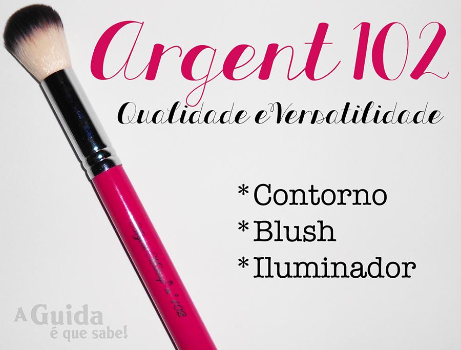 pincel maquilhagem maquiagem review swatch resenha made in portugal argent makeup 102 girly