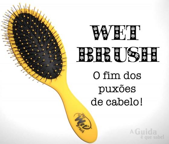 the wet brush escova cabelo review resenha pluricosmética