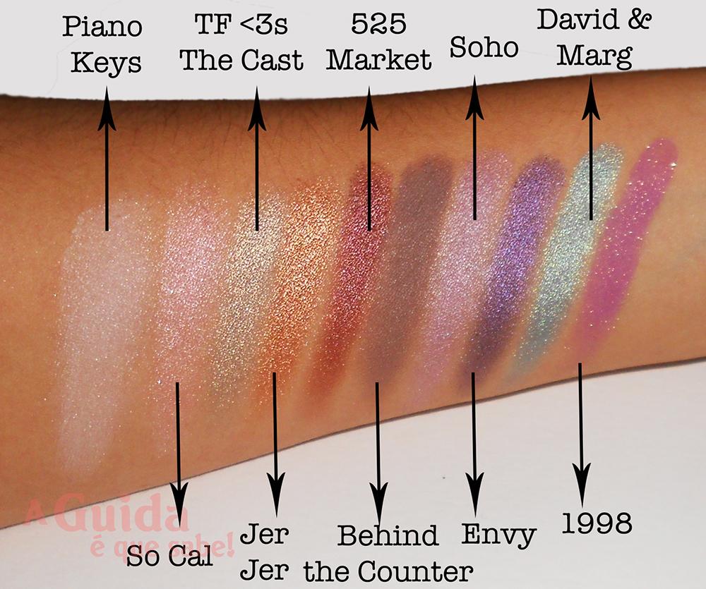 Too Faced Loves Sephora paleta maquilhagem makeup review resenha swatch