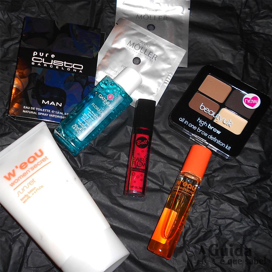 Beauty Box The Secret Bag subscrição maquilhagem beleza makeup beauty review resenha opinião low cost