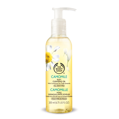 camomile silky cleansing oil the body shop blog review resenha opinião swatch beleza maquilhagem beauty makeup