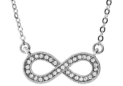 Colar George Rech Unanyme Swarovski acessórios moda showroomprive low cost prata silver swarovski