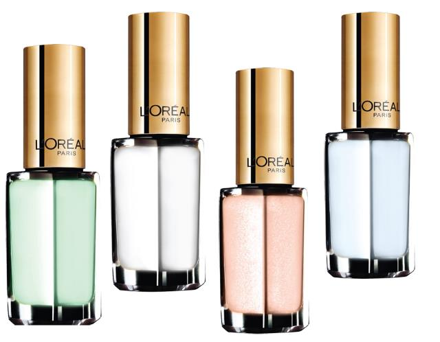 azulles blancs l'oreal paris color riche verniz esmalte menthe glace azul unhas manicure beauty makeup nails beleza resenha review opinião swatch