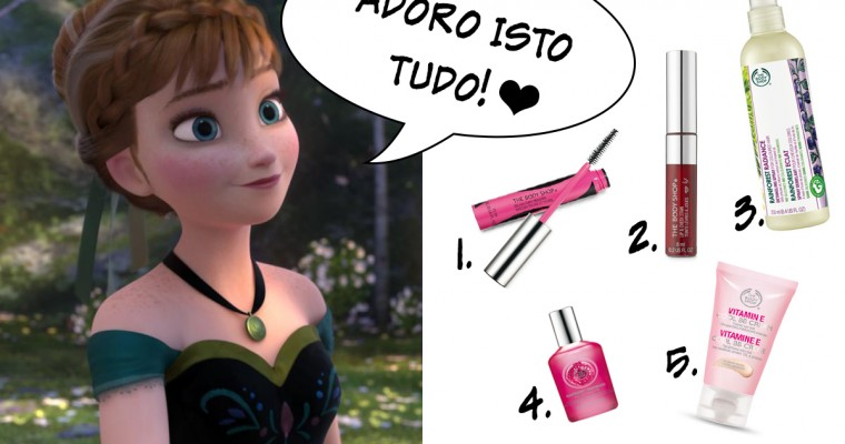 Top 5 da Princesa Anna (Frozen)