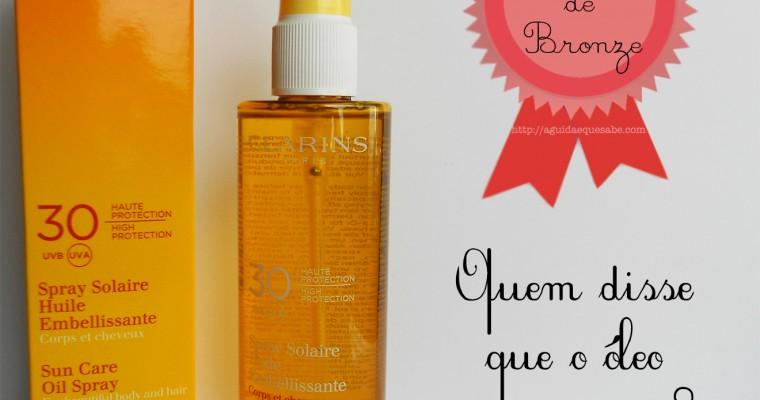 Clarins Sun Care Oil Spray – Medalha de Bronze