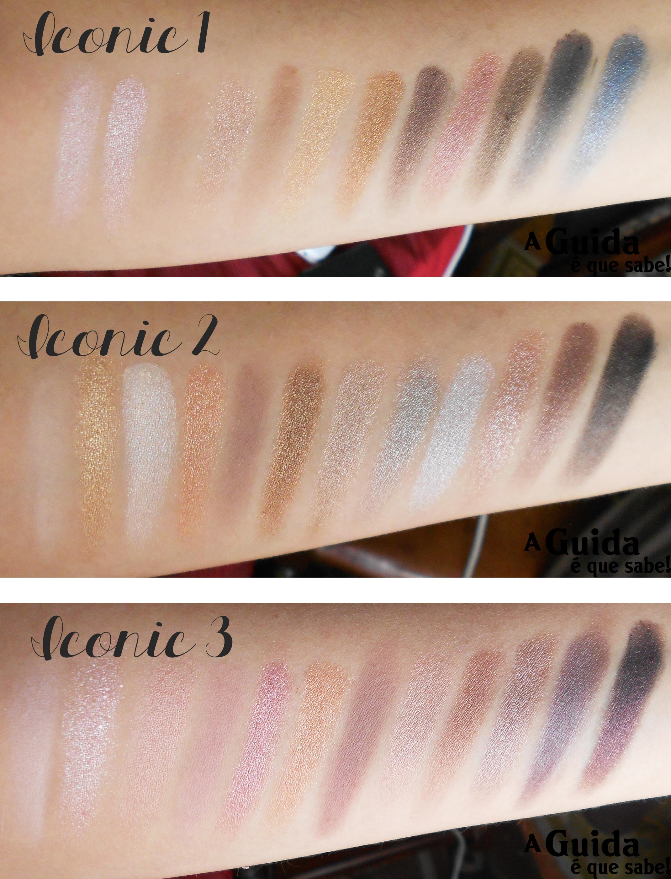 makeup revolution iconic naked urban decay opinião swatch review resenha maquilhagem paleta palete