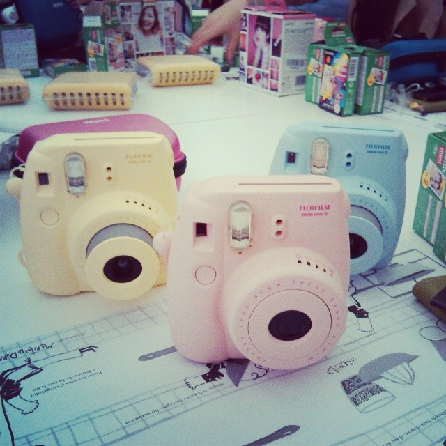 fujifilm instax mini 8 passatempo blog party