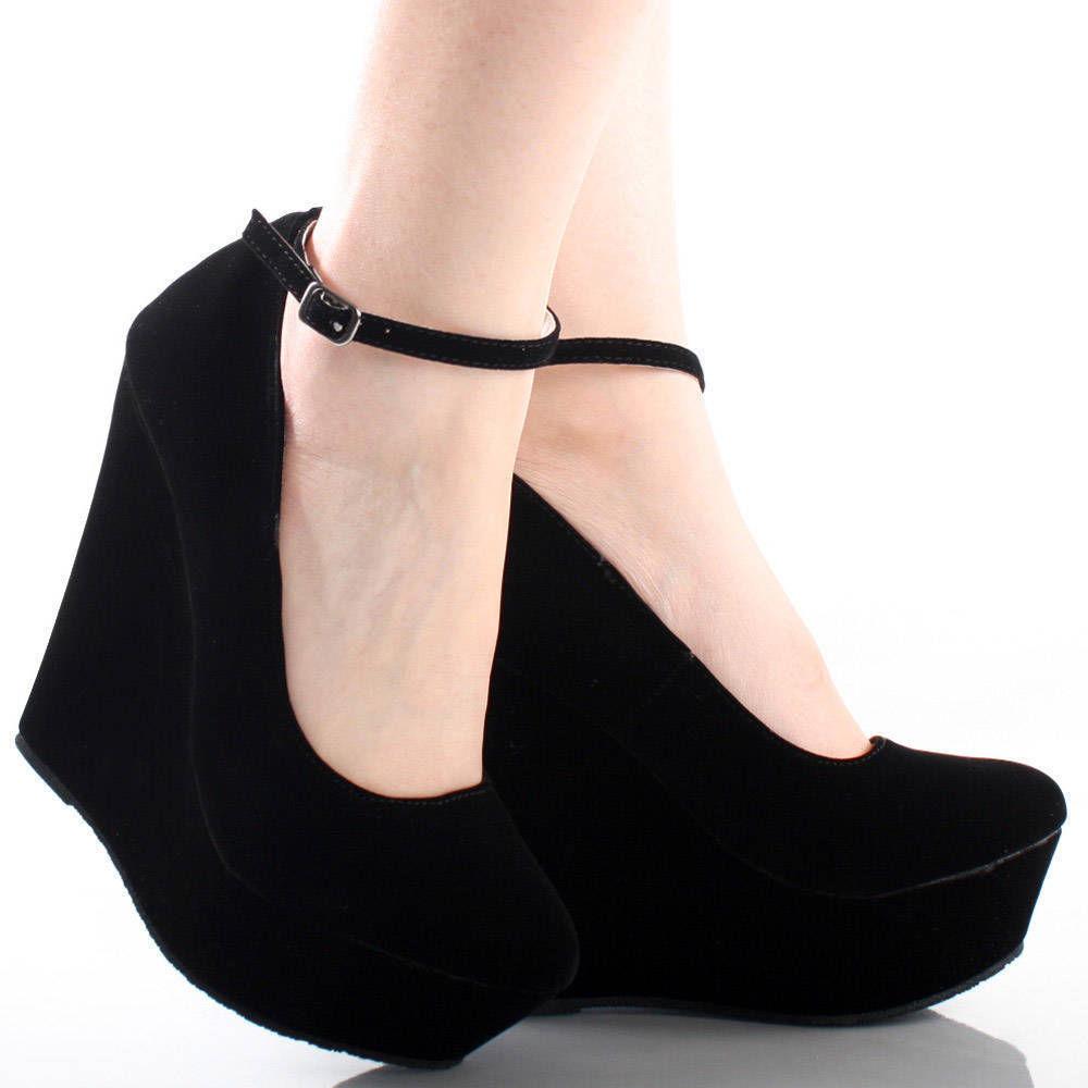 wedges sapatos salto alto cunha plataforma partido moda lotd ootd look do dia fashion trend veludo preto black velvet