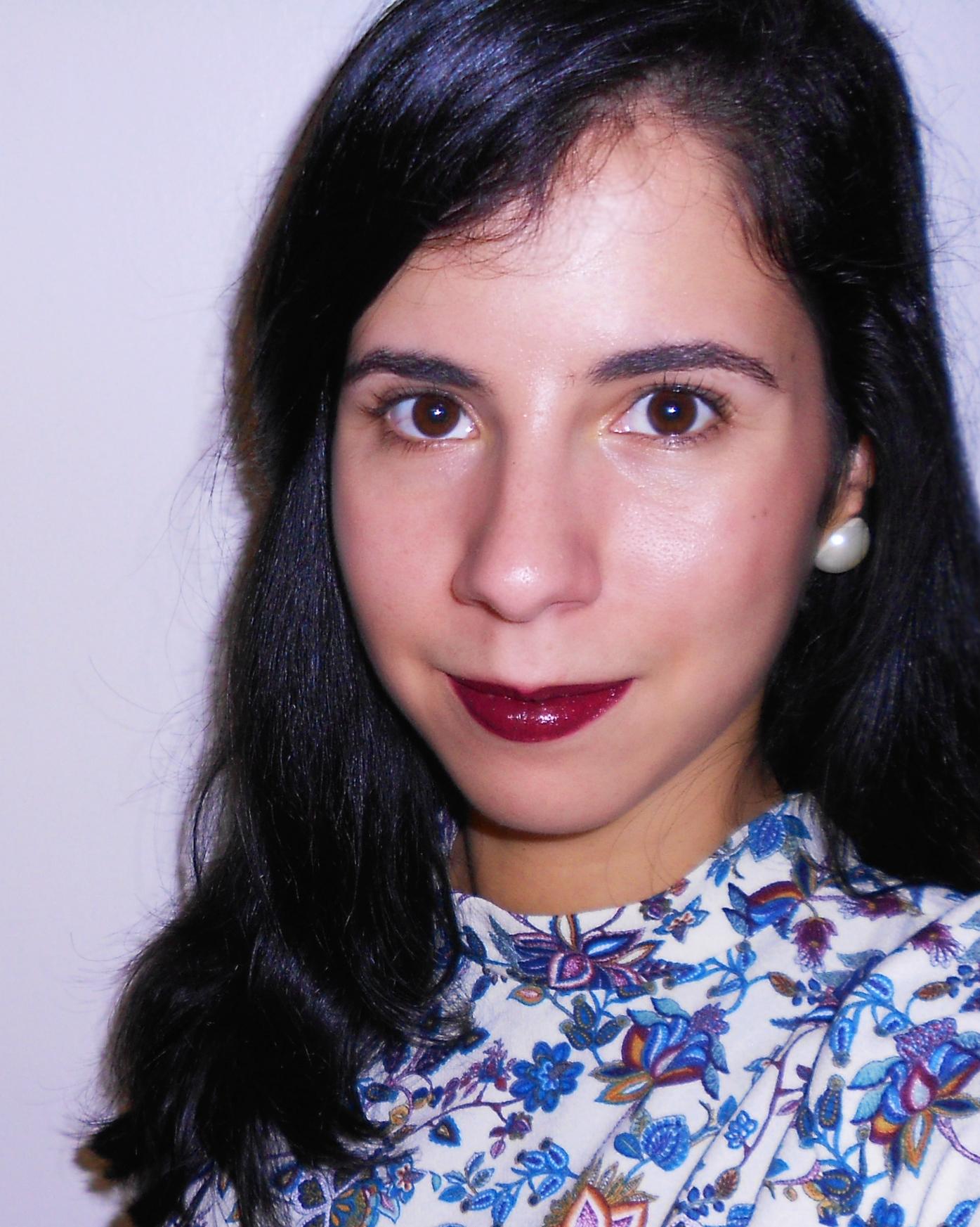 batom avon vixen review swatch resenha opinião make up maquilhagem blog beleza beauty burgundy