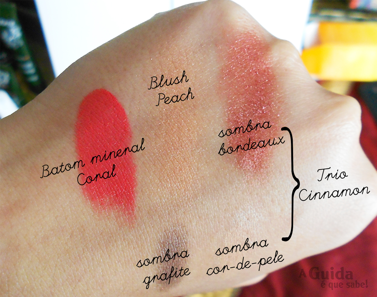 make b mineral maquilhagem boticário maquiagem makeup baked blush batom beauty beleza blog review swatch resenha opinião