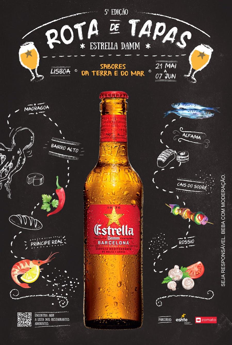 5ª Edição Rota de Tapas Estrella Damm Lisboa