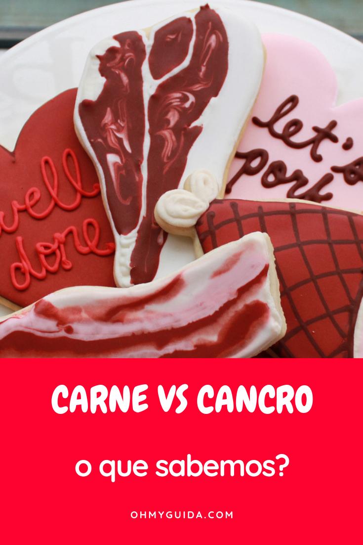 oms carne vermelha causa cancro who