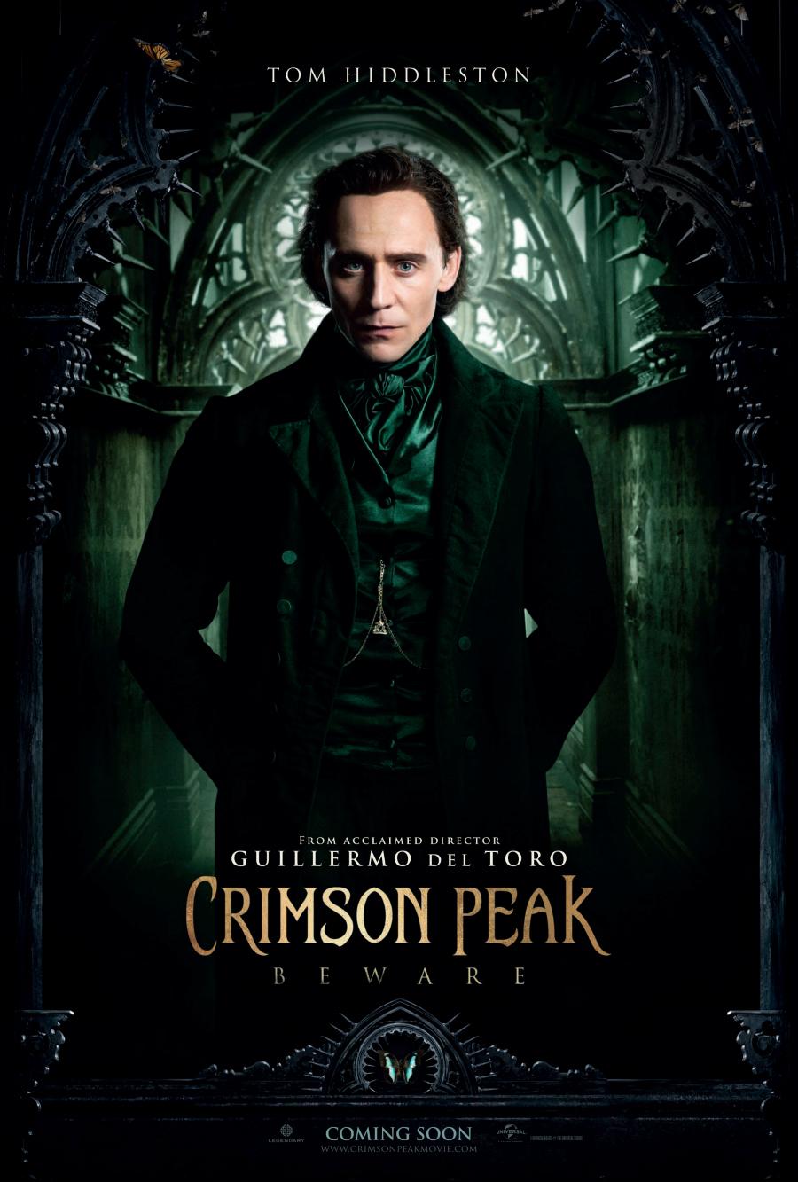 filme crimson peak poster imdb cinema review tom hiddleston