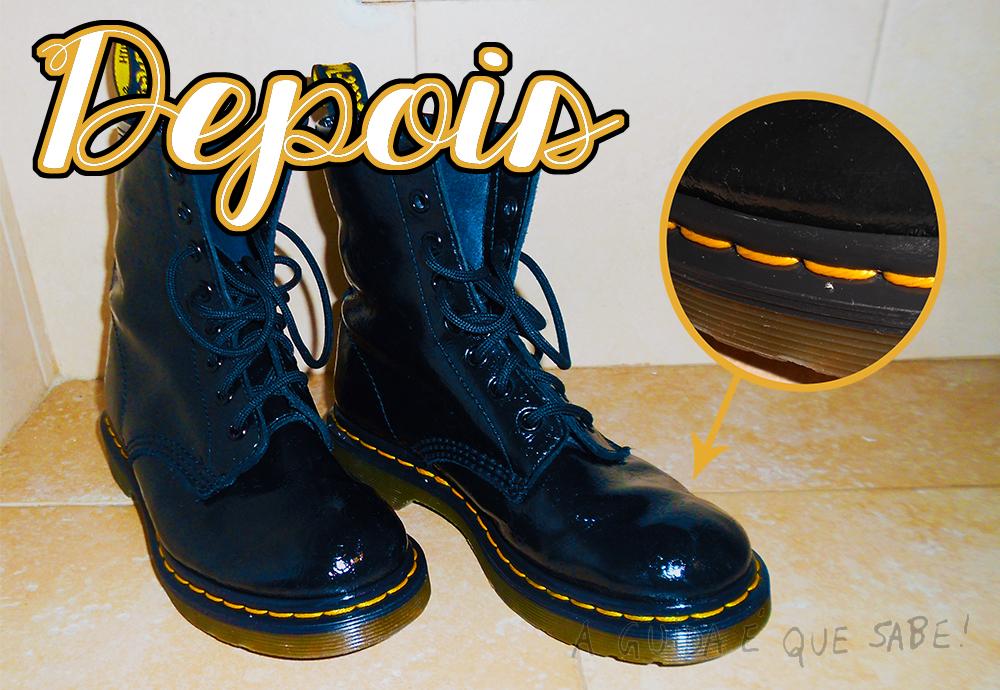 limpar botas pele dr martens oxi action detergente dicas limpeza casa blog moda