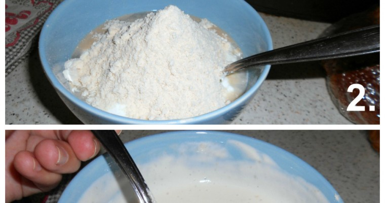 Sobremesa docinha e sem açúcar de quark + whey