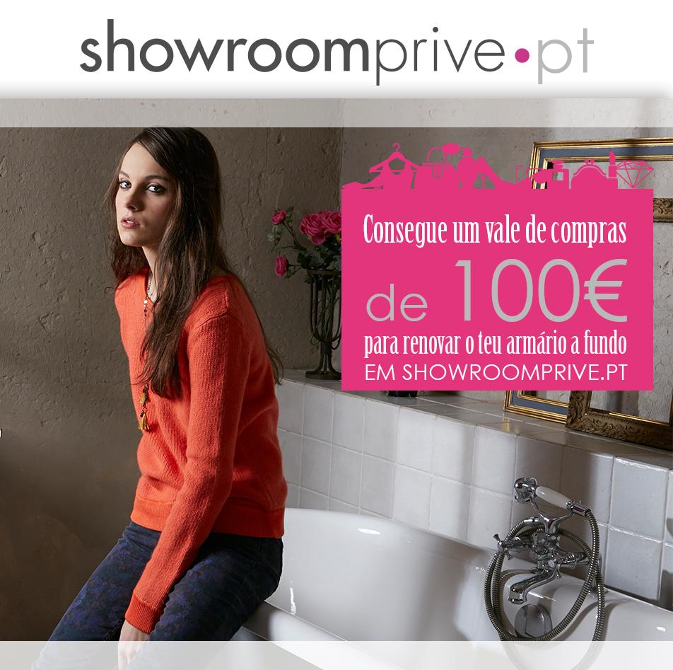 Oferta Vale 100€ Showroomprive Passatempo passatempo showroomprive desconto cupão código grátis são valentim dia dos namorados