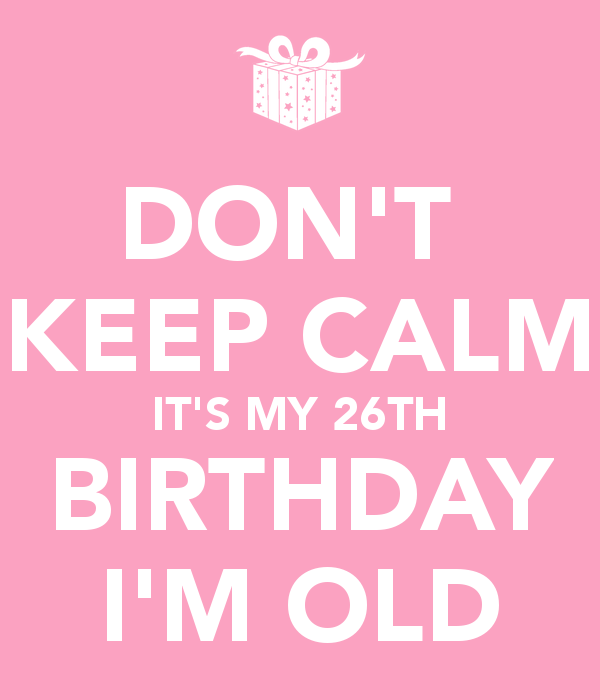 26 Aniversário blog